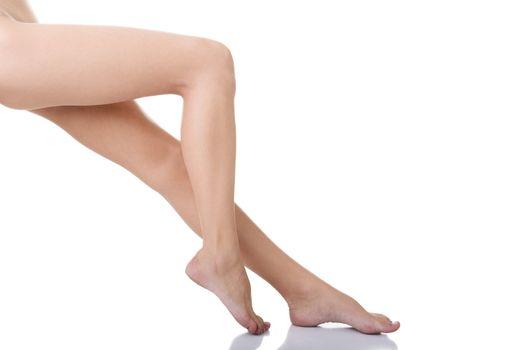 Fit female legs