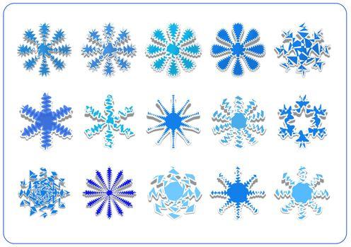 snowflake scrapbook