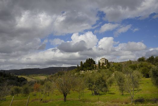 Tuscan farmhouse (Podere)