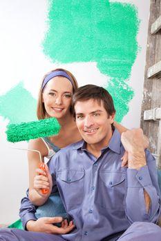Home Improvement Couple