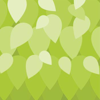 Leaf in green background in eco concept illustration