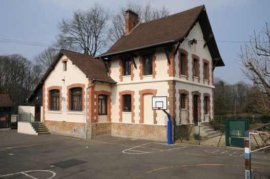 Ile de France, the Hautil school in Triel sur Seine