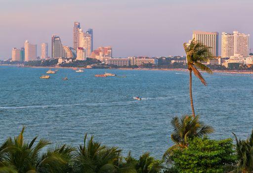 Pattaya bay thailand