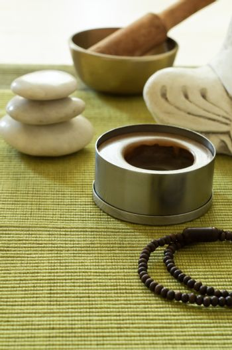 Buddhism Meditation Setting