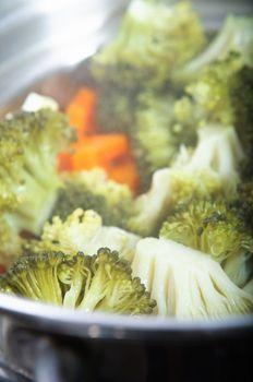 Steaming Vegetables