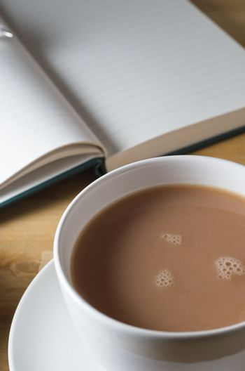 Cup of Tea and Journal