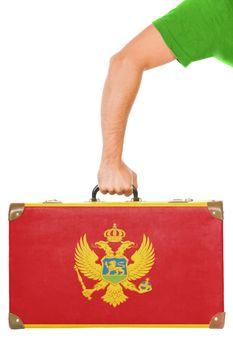 The Montenegro flag