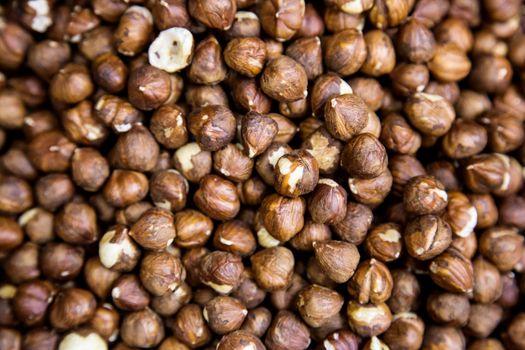 hazelnut in the street shop in Dubai