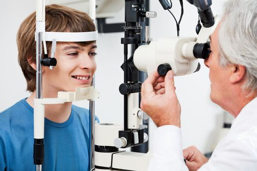 Visual Field Test For Glaucoma