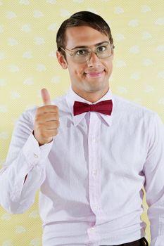 Geek Wishing Luck
