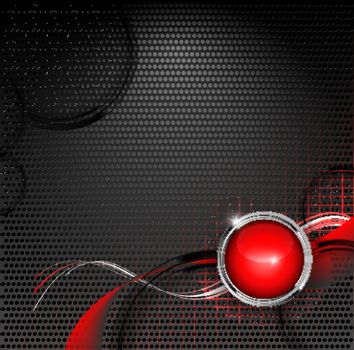 techno backdrop