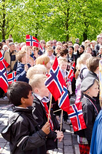 Parade in Oslo on 17th may