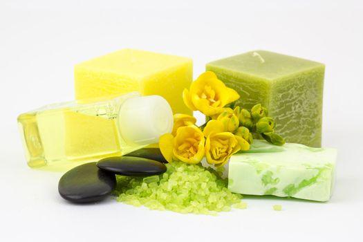 fragrant freesia bath
