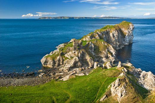 Cliff in Northern Ireland