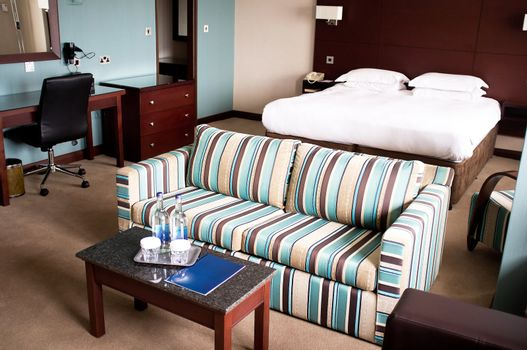 Suite room of a hotel