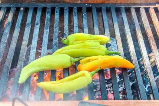 Cooking Xcatic peppers