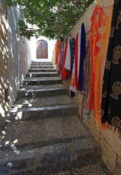 Lindos merchandise  Rhodes Greece