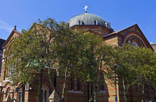 Greek Cathedral of St. Sophia in London