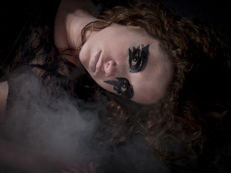 sexy gothic girl