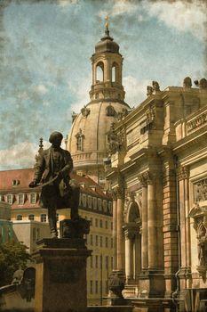 Dresden urban scenics - Vintage