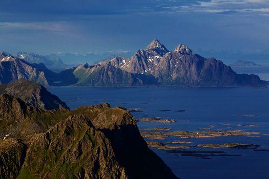 Scandinavian coast