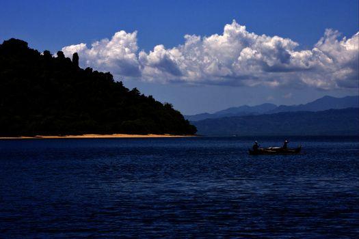 froth lagoon and coastline