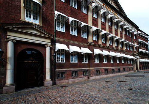 Buildings at Copenhagen Denmark
