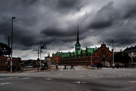 Former stock exchange building in Copenhagen