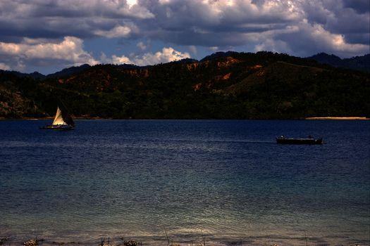 tropical lagoon hill navigable