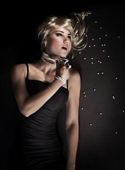 Seductive luxury woman