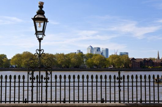 View of Docklands from Greenwich