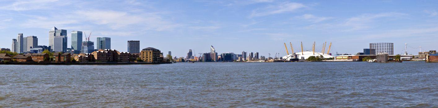 London Docklands Panoramic
