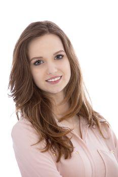 Portrait of a beautiful teenaged woman