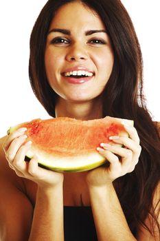 eat watermelon