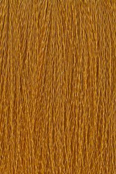Brown fiber brush closeup