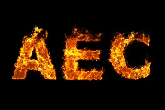 AEC on fire