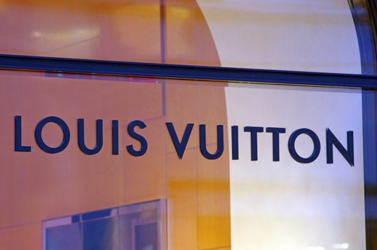 ROME, ITALY - MARCH 08: Louis Vuitton shop on Via del Condotti in Rome on March 08, 2011 in Rome, Italy