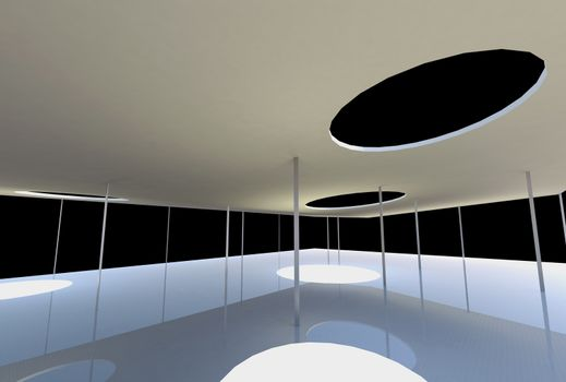 Conceptual architecture on black