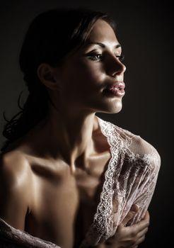 Gorgeous sensual woman