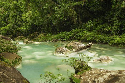 Flowing Waters of Rio Celeste