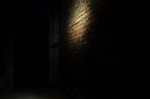 Darkness in the interior