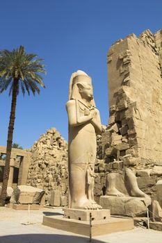 Luxor, Karnak temple in the egypt