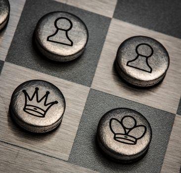 metal chess