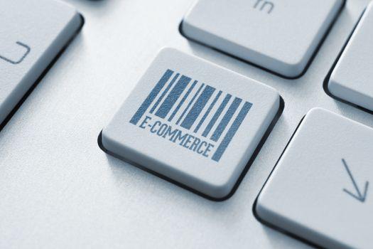 E-commerce button