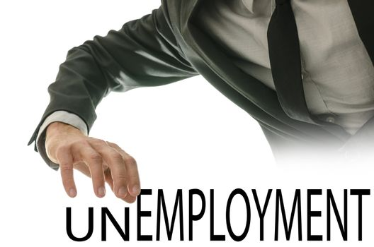 Turning the word Unemployment into Employment