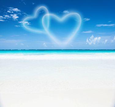 Romantic beach resort