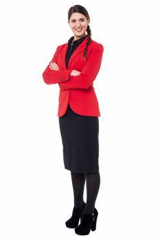 Successful businesswoman in formals
