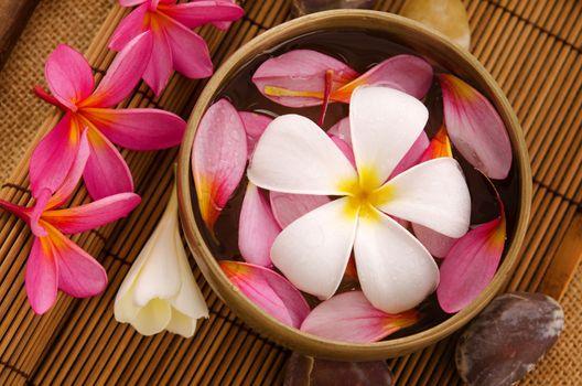 Health spa retreat setting