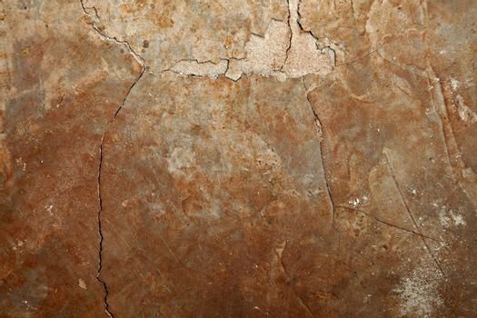 Rough texture of concrete floor