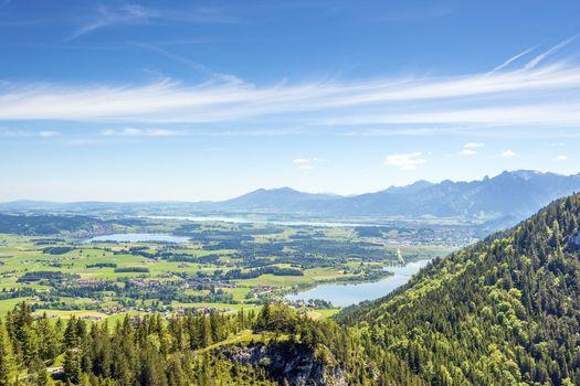 Views of the Allg��u region of Bavaria